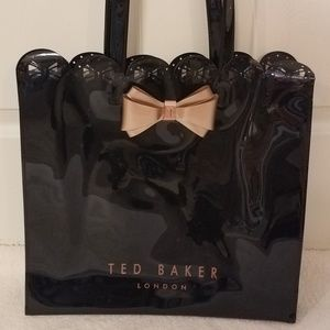 RARE TED BAKER LONDON Icon Bow Tote Shopping Bag